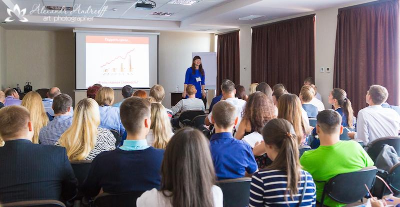 Під час 1 Всеукраїнського Бізнес-форуму підприємців у Дніпропетровську - завжди повні зали!