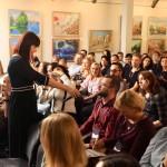 14.09.18 Була спікером на бізнес-інтенсиві «HoReCa.ReStart» разом із кращими рестораторами та готельєрами України