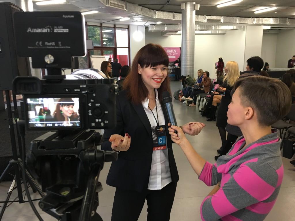 Участь як єдиний бізнес-експерт в міжнародному проекті Nails of the year в Києві