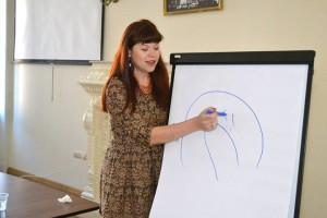 Під час майстер-класу у Львові