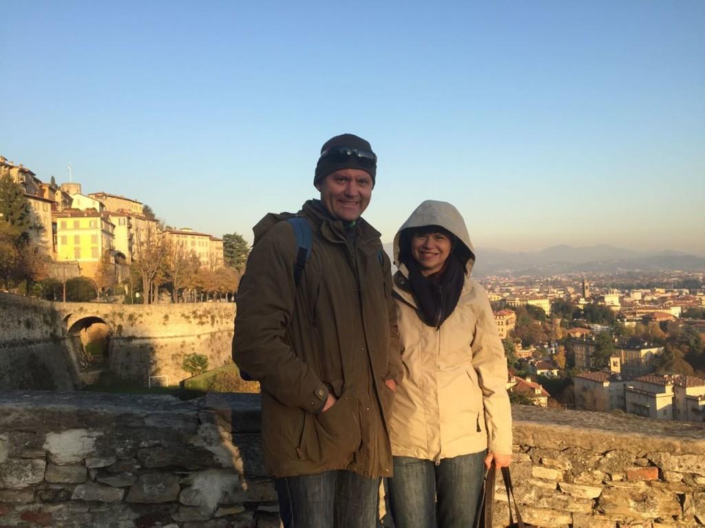 Останні дні осені в нприступній фортеці Бергамо!