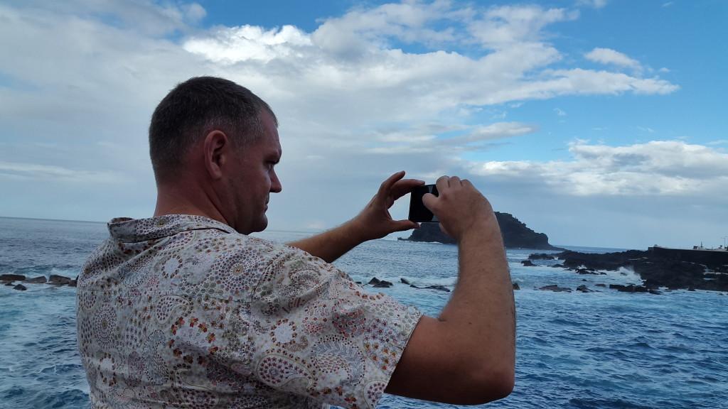На Канарський островах вічна весна і море зливається з небом!