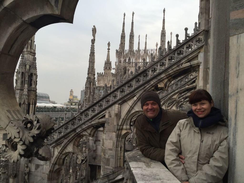 Найвеличніше місце Мілану - собор Дуомо!