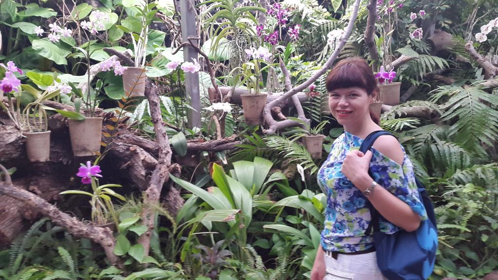 Сад орхідей в Лоропарку на Тенеріфе - вічна весна та позитив!