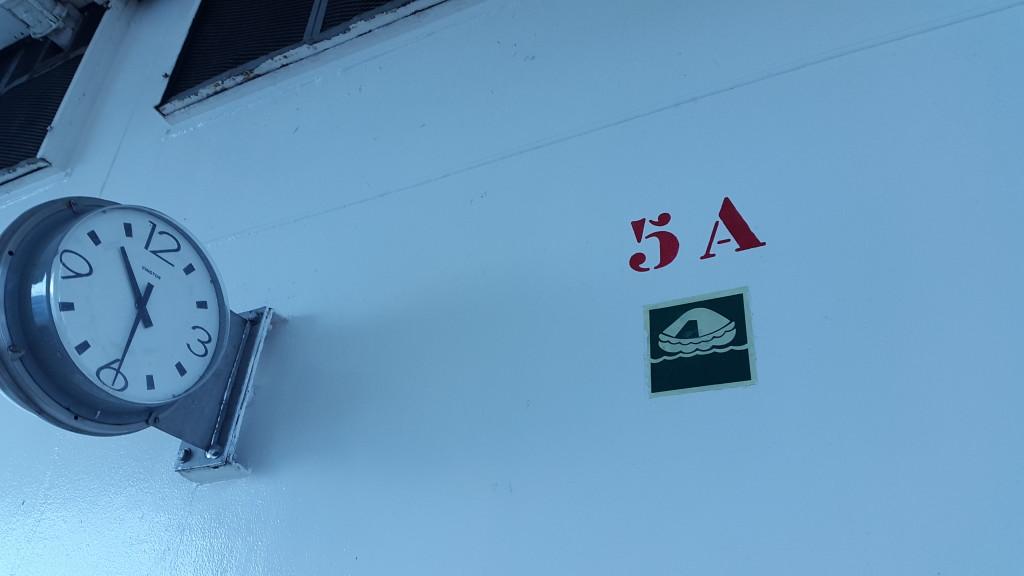 Наше місце посадки на рятівні човни