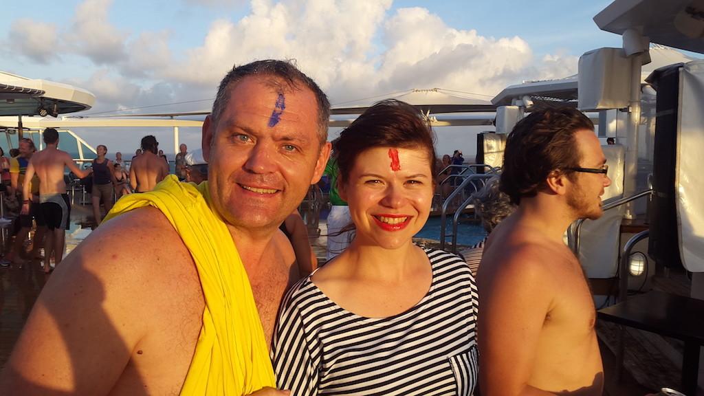 Так на океанському лайнері ми проходили екватор!