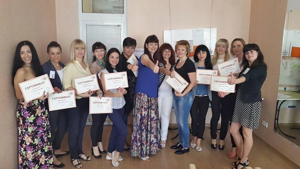 """Після серії тренінгів для мережі ювелірних магазинів """"Амфора"""", Львів."""