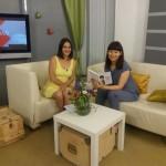"""Інтерв'ю про книгу """"Почніть говорити НІ"""" на телеканалі UA: Житомир."""