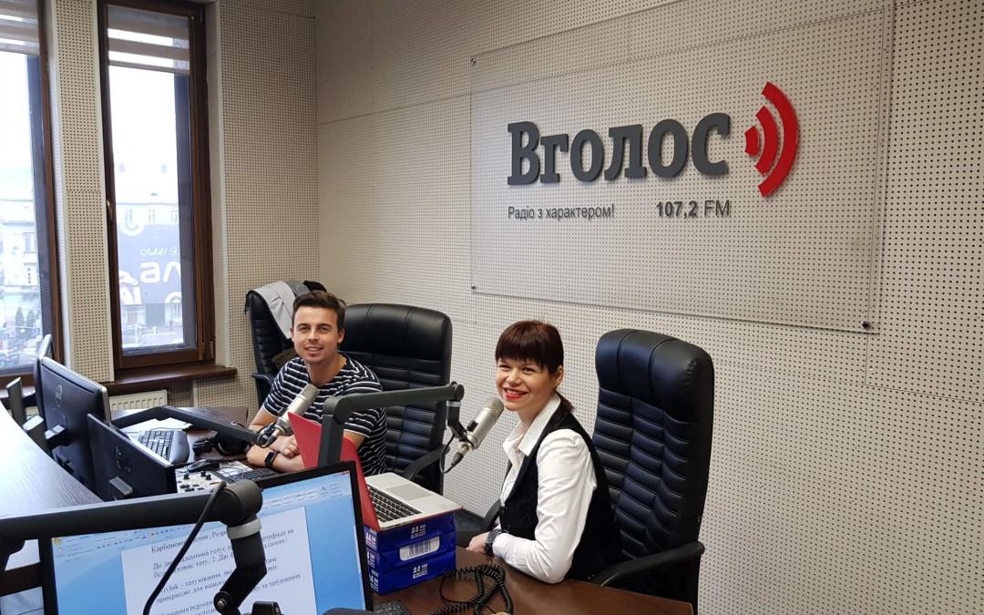 Бізнес-ідеї до дня Валентина – прямий ефір на радіо ВГOЛОС у Львові